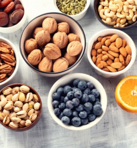considerations for snacks for kids and ideas for healthy options to make ahead
