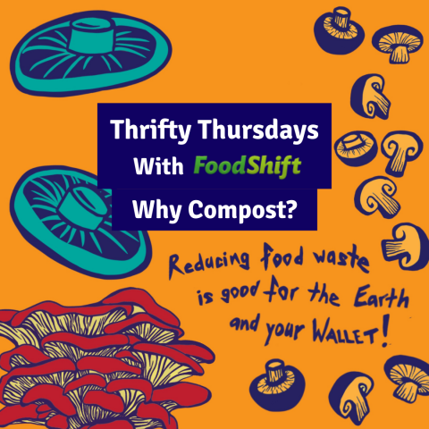 Many great reasons to compost your inedible food scraps
