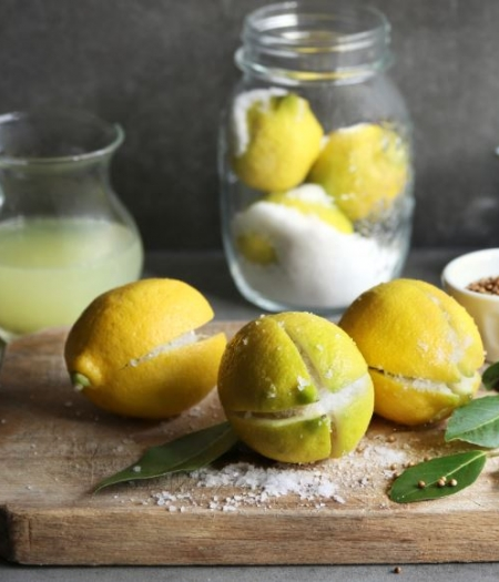 Make preserved lemons to gift to friends or just to keep on hand for a tasty addition to dishes