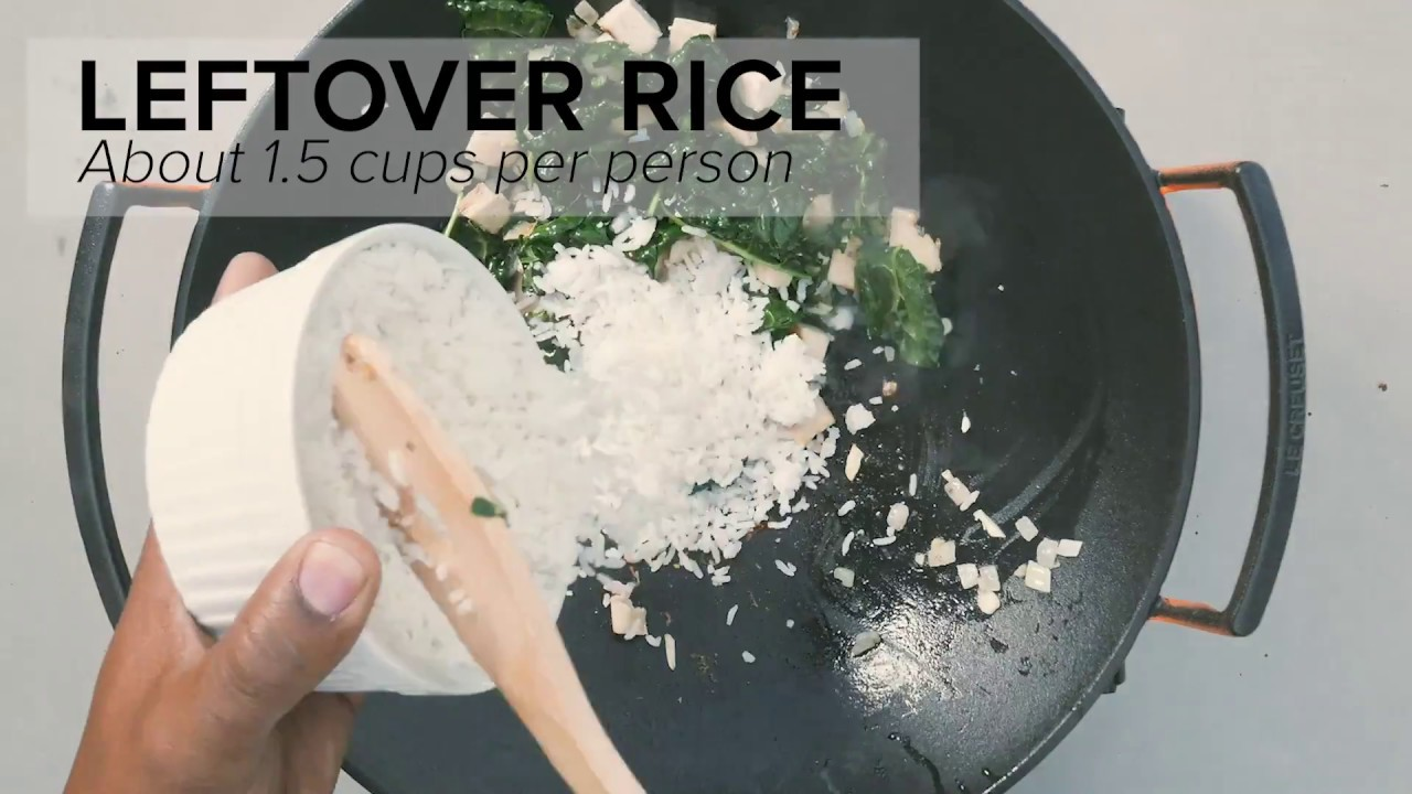 Embedded thumbnail for Love Your Leftovers - Zesty Fried Rice